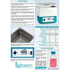 ISOLAB SU BANYOSU + 5... 99 °C / 11 L