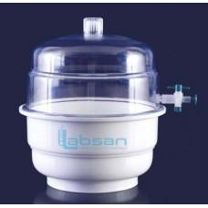 Desikatör, Plastik, Vacuum, Superior, 300 mm